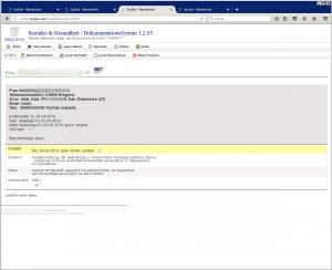 Klienten-Ansicht: Klienten-Stammdaten & Kontakt