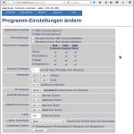 Programm-Einstellungen