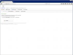 Starter f. Dateiexport Buchungssätze